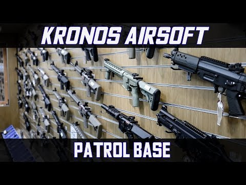 Patrol Base Airsoft Shop Tour