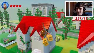 HOMEM ARANHA SALVOU A ELSA DO FROZEN no LEGO !