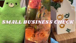 🍾 SMALL BUSINESS CHECK || TikTok 🍾