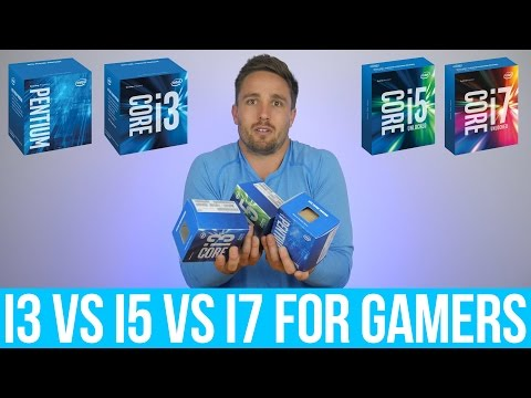 Intel Pentium vs.  Core i3 vs.  Core i5 vs.  Core i7 - What do Gamers get by spending more?