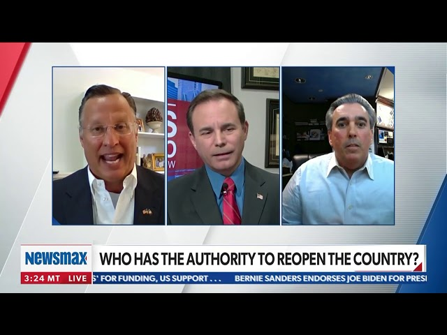 Tom Maoli and Congressman Dave Brat on Newsmax 4/13/2020