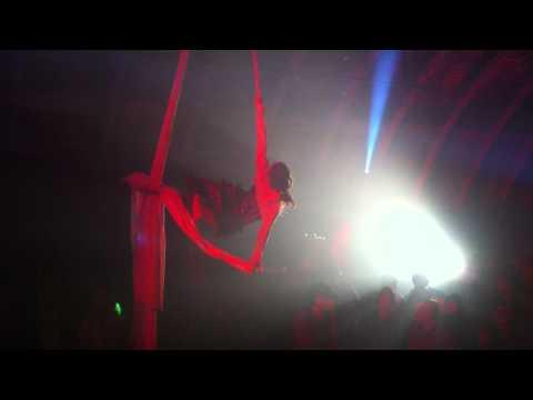 Pamela Samuelson flying at Mission Control Silent Disco :D