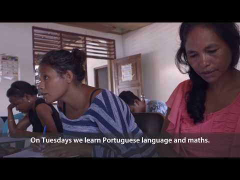A Second Chance at Education in Timor-Leste: Immaculada's story