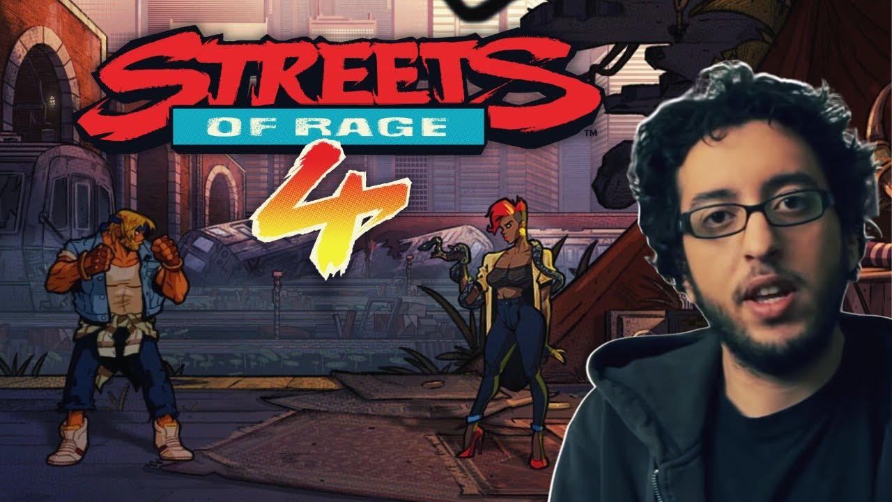 Karim Debbache – Streets of Rage 4 | Les rues du sel avec Fred, Seb et Cyrille Imbert.