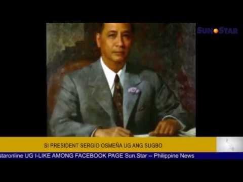 Si President Sergio Osmeña ug ang Sugbo