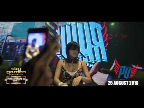 PUTRI UNA - Sky Garden Bali Int. DJ Series - August 25th, 2016