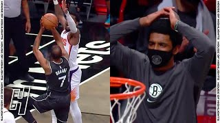 Kyrie Irving Can't Believe How Kevin Durant Cooking Up The Suns | April 25, 2021