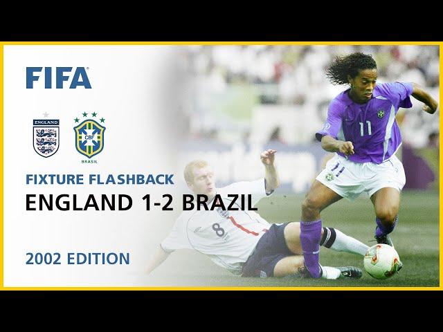 England 1-2 Brazil | Korea/Japan 2002 | FIFA World Cup