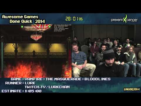 Vampire: The Masquerade - Bloodlines :: SPEED RUN (0:57:37) by Lurk [PC] #AGDQ 2014