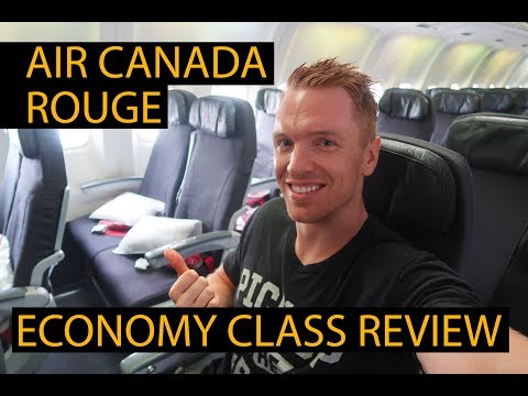 AIR CANADA ROUGE ECONOMY - BOEING 767-300 FLIGHT REVIEW | Toronto To Bogota