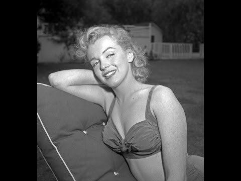 Marilyn Monroe At Johnny Hyde's  house 1950 - Rare 1960 Interview while filming Let's Make Love