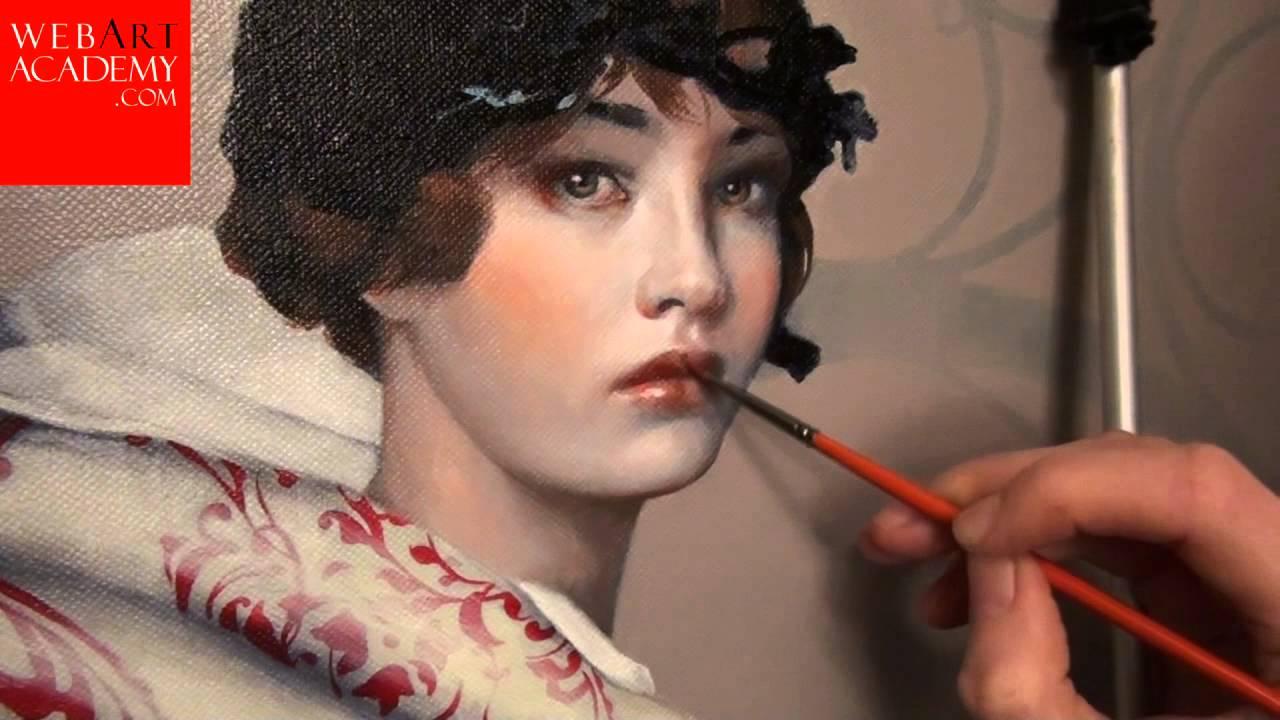 Oil portraits for women