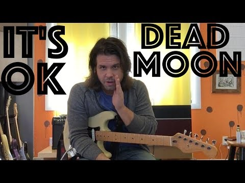 Guitar Lesson: How To Play 'It's OK' By Dead Moon Like PJ Does After Daughter :)