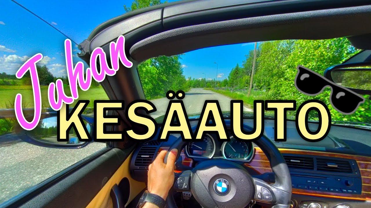 TÄSSÄ on Juhan KESÄAUTO! (BMW Z4)
