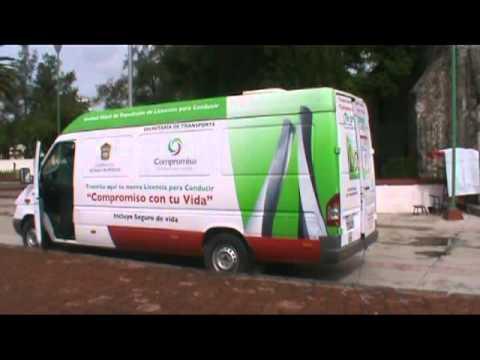 La Unidad Movil De Exp De Licencias Se Encuentra En La Exp Del Municipio De Tecamac Yadira Ayala