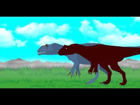 DBA Season 2 Alamosaurus VS Allosaurus