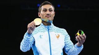 Фазлиддин Гаибназаров - Олимпийский Чемпион по боксу 2016. Финальный бой. Минута славы!