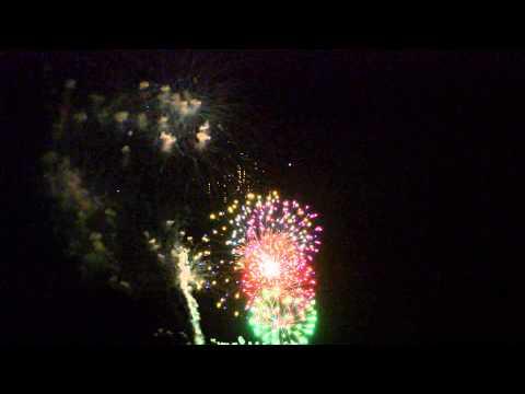 Fireworks Show Finale - Plainview, Texas - July 3, 2015 7-3-2015