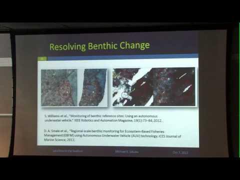 Autonomy in Robotics for Oceanographic Science - Mike Jakuba