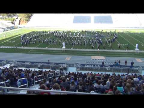 UNR Marching Band - Space Show