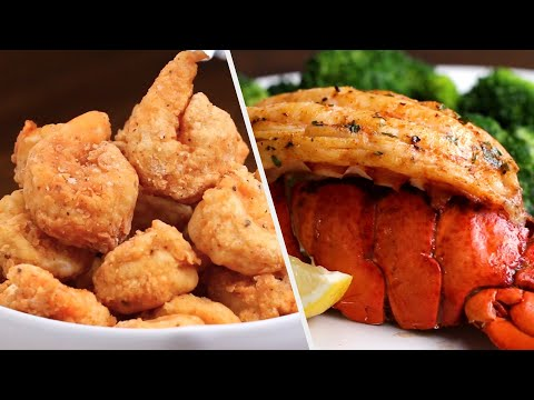 12 Delicious Seafood Dinners •Tasty