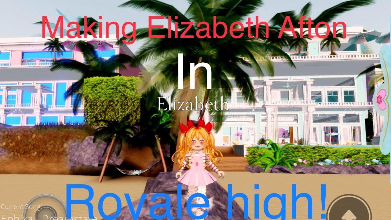 Making Elizabeth Afton In Royale High Read Description Uwu Youtube