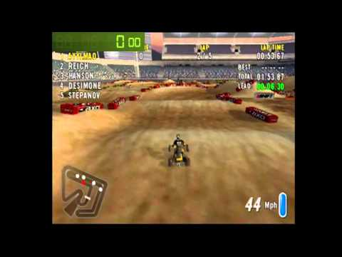 Speedrun: ATV Offroad Fury 2-Sausalito (5 Lap Race) [WR] [4m 56s]