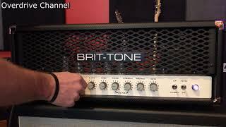 Brit-Tone 50w SLO Plus Tweaking/Playthrough - No commentary