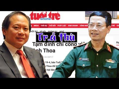Tân bộ trưởng bộ 4T Nguyễn Mạnh Hùng- Trương Minh Tuấn điên cuồng trả thủ Tuổi trẻ