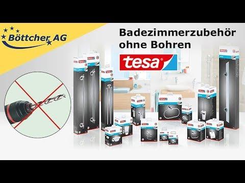 Badezimmerzubehör von Tesa, ohne Bohren