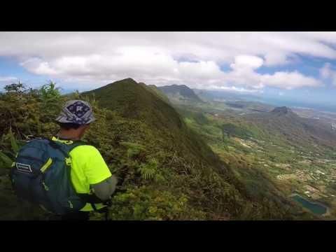 SIGAoutdoors- Koolau Mountain Range (Kulepiamoa trail to Hawaii