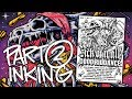 Making of Gig Poster Photoshop Timelapse - PART 2/3 (INKING)
