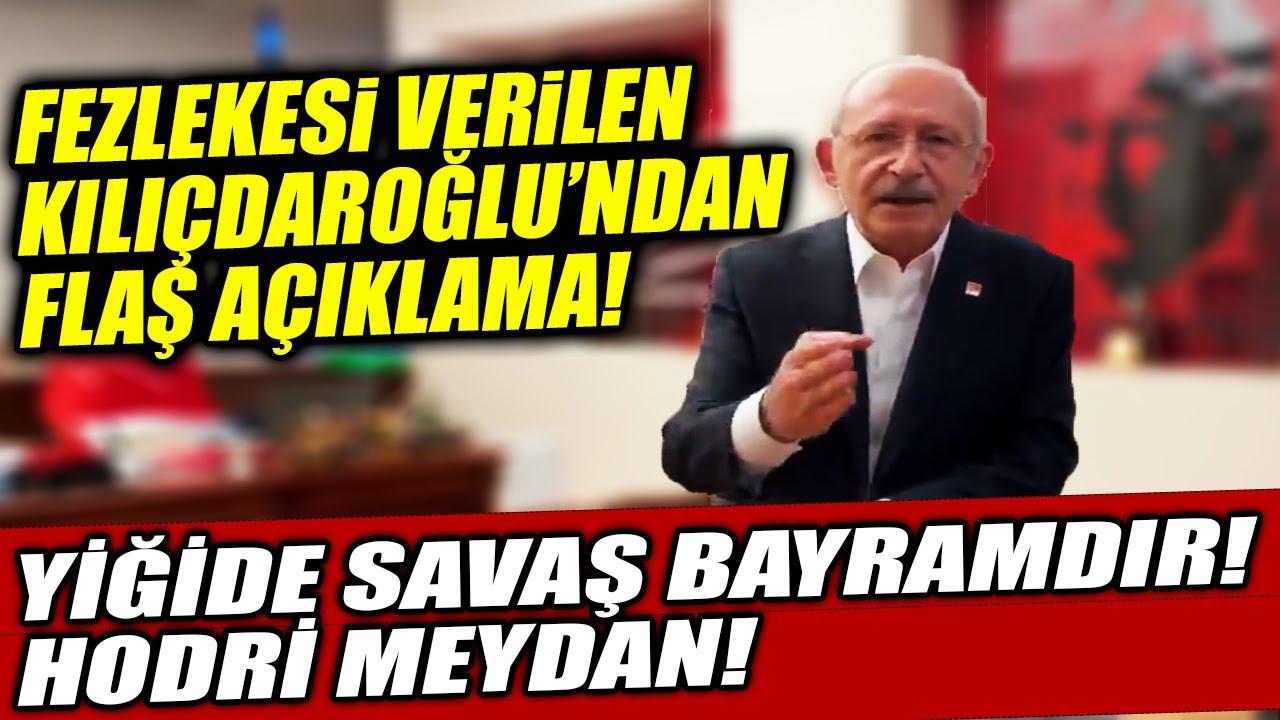 Download Yargılanması İstenen Kemal Kılıçdaroğlu'ndan Flaş Açıklama! Fezlekesi Verildi!