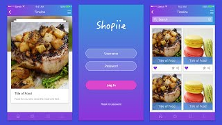 How to design Food Apps using Sketch