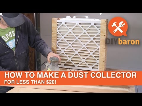 How to Make a Dust Collector for Less Than $20