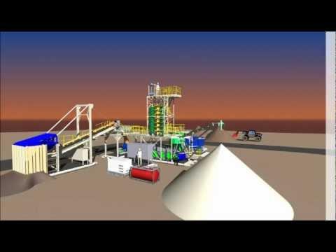 R.J.Robbins & Associates - 5 to10 TPH Mineral Sands Processing Modules