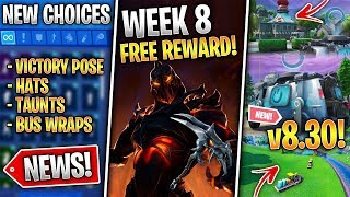 Free RUIN Skin, Reboot Vans 8.30, Early Map Changes, New Locker Options! (Fortnite News)