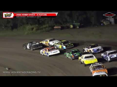 Sportsman/Hobby Stock Features - Rapid Speedway - 8/30/19