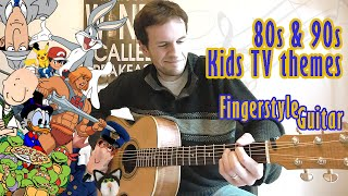 Download John Tracey - 80s and 90s Kids TV themes on solo acoustic guitar MP3 song and Music Video