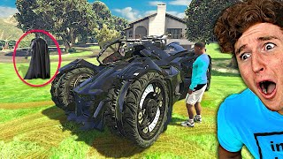 I Stole The BATMOBILE From Batman In GTA 5.. (Mods)