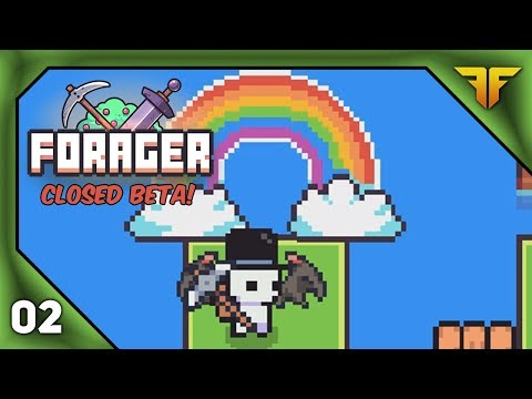 Forager | Closed Beta Let's Play Episode 2 - The Druid's Quest (PC Gameplay)