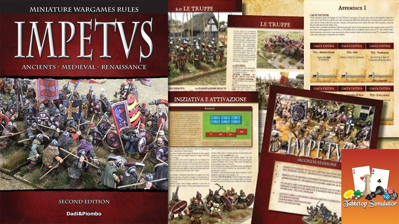 Играем полный Impetus 2.0 #01 - Средневековье. Англия против Франции