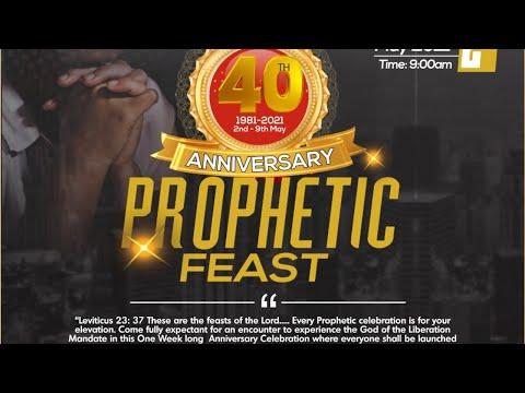 40th Anniversary Prophetic Feast Day 1 | 05.02.2021 | Winners Chapel Massachusetts