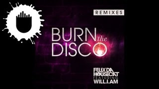 Felix Da Housecat feat. will.i.am - Burn The Disco (Bro Safari Remix) (Cover Art)
