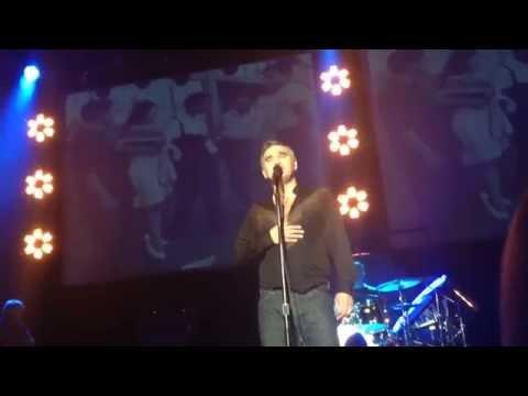 Morrissey- Asleep (live) •SAN JOSE Civic Center May 7, 2014