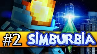 Minecraft Simburbia Let's Play #2 | DEATH DAYCARE!? - Minecraft 1.8 (Sims, Sim City)