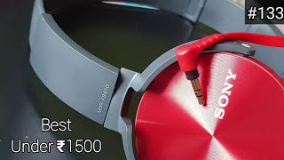Sony MDR-XB450 Headphones Unboxing + Sound Test + Short Review