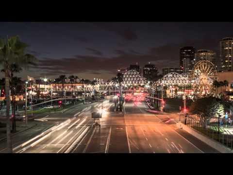 Downtown Long Beach Shoreline Village Time Lapse