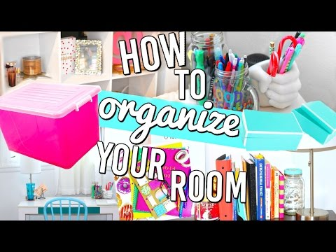 How To Organize Your Room! Organization Hacks, DIY and more!