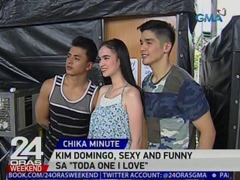 24 Oras: Kim Domingo, sexy and funny  sa 'Toda One I Love'
